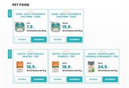 Alimenti per cane e gatto - spedizione gratuita