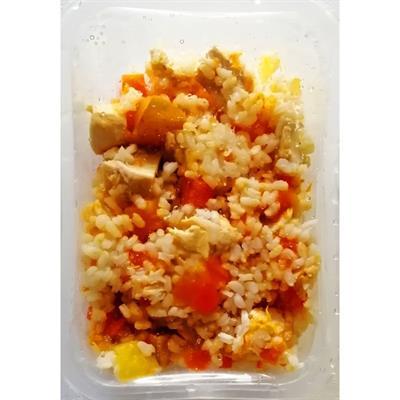Pollo riso e verdure - Cucina casalinga 10 vaschette