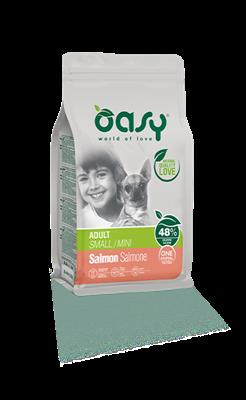 Oasy One Protein adult small/mini al salmone 800GR