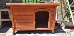 Casetta in legno per cani taglia piccola
